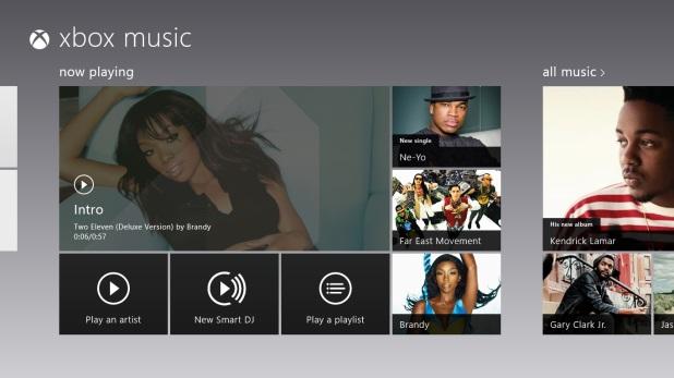 xbox music 8.0